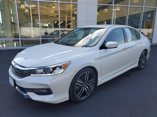 Honda Accord Sport Special Edition >> Certified Pre Owned 2017 Honda Accord Sport Special Edition 4d Sedan